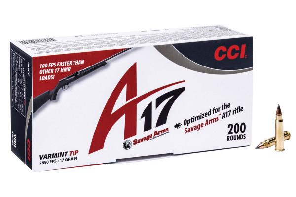 CCI-A17, 17gr Ballistic tip