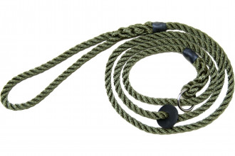 Bisley-Deluxe Green Bisley Dog Lead