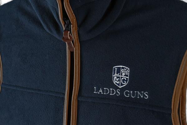 Ladds Guns Adult Navy Gilet