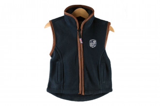 Ladds Guns Child Navy Gilet