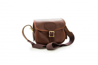 Bradleys-Heritage Leather Cartridge Bag
