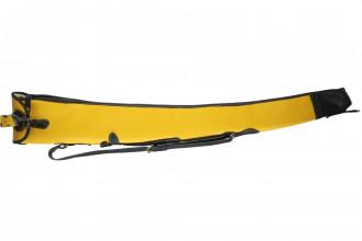 Bradleys-Mustard Leather Single Gun Slip
