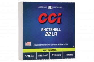 CCI-22 LR Shotshells 12 30 gr