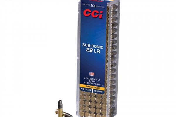 CCI-22 LR Hollow Point Sub Sonic 40 Gr