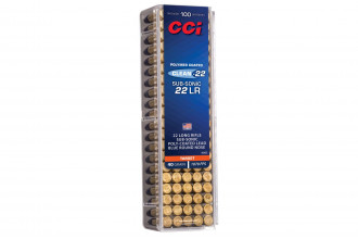 CCI-Clean - 22 Target Subsonic