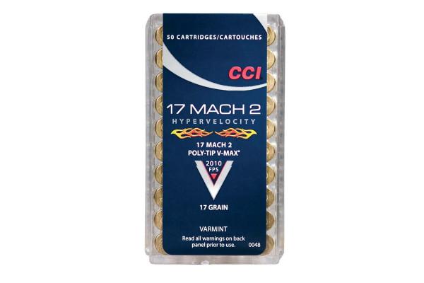 CCI-.17 Mach-2 Hyper Velocity 17 gr