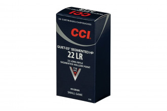 CCI-Quiet-22LR Segmented Hollow Point 40gr
