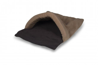 HiK9-Extra Extra Large Chocolate & Tan Snuggle Tunnel