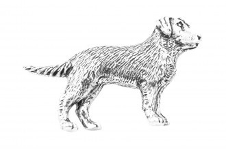 Pewter Pin-Labrador