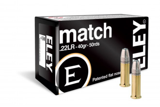 Eley-22 LR Match 40 gr