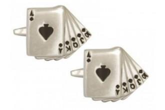 Dalaco-Fan of Spades Cufflinks
