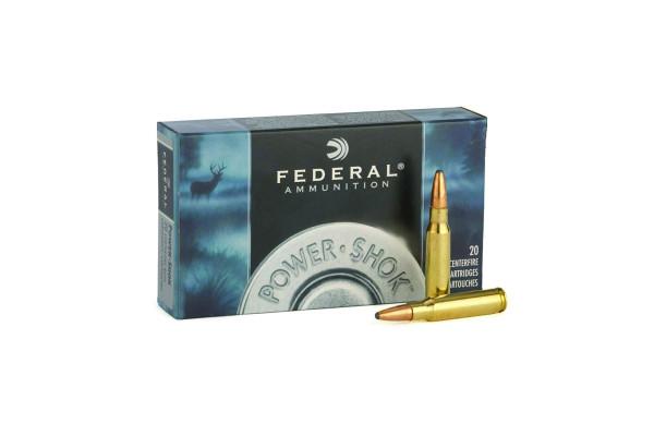 FEDERAL-22-250 Power shock 55gr Soft point