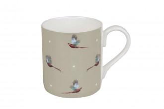 Sophie Allport-Flying Pheasant Coloured Standard Mug