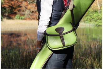 Bradleys-Lime leather Cartridge bag