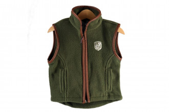 Ladds Guns Child Green Gilet