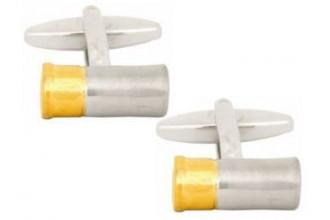 Dalaco-2-Tone Gun Cartridge Cufflinks
