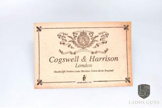 Cogswell & Harrison-Beige Gun Case Label