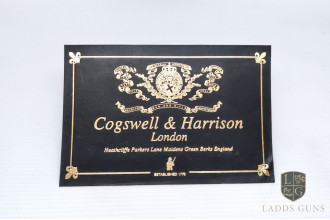 Cogswell & Harrison-Black Gun Case Label