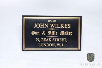 John Wilkes -Gun Case Label