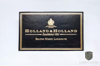 Holland & Holland-Medium Gun Case Label