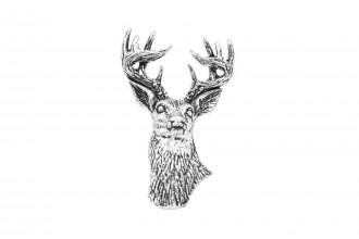 Pewter Pin-No 22: White Tailed Deer