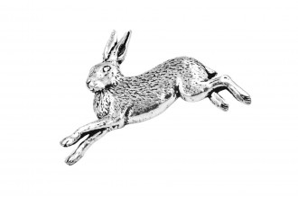 Pewter Pin-No 26: Hare