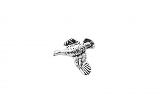 Pewter Pin-Grouse
