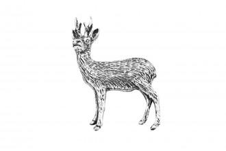 Pewter Pin-No 23: Roebuck