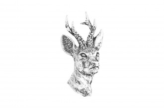 Pewter Pin-No 24: Roe Deer