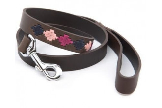 Pioneros-Pampa Cross, Pink Navy & Berry Dog Lead