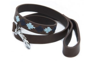 Pioneros-Pampa Cross, Navy & Pale Blue Dog Lead