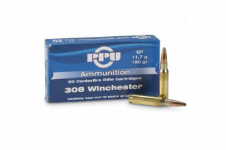PPU-308 Win Soft Point 180gr