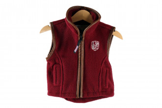Ladds Guns Child Burgundy Gilet