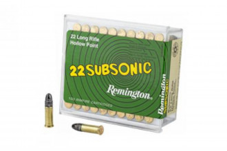 Remington-22 LR Subsonic 40 gr