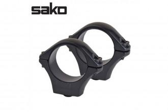SAKO-Optilock Ring 30mm tube, Medium, Blued