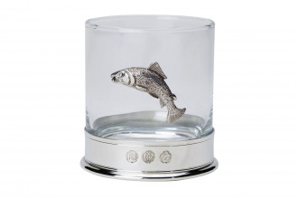 Bisley-Fishing Salmon Whiskey Glass