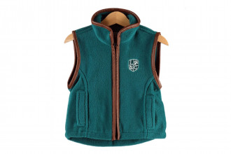 Ladds Guns Child Teal Gilet