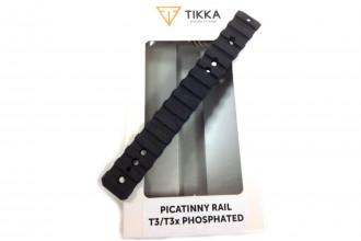 TIKKA-Picatinny Rail, Phosphated T3/T3X