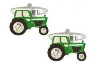 Dalaco-Green Tractor Cufflinks
