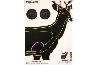 Visicolor-Deer Targets 10PK