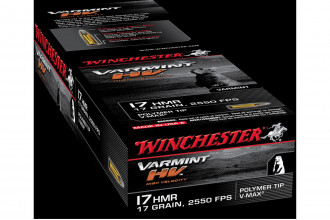 Winchester-17 HMR Varmint HV 17 gr